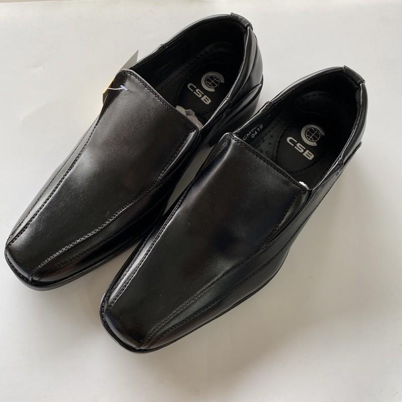 CsB รองเท้าคัชชูผู้ชาย รับปริญญา รุ่น CM500 สีดำ (39-47)