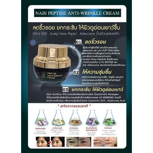 Nabii Peptide Anti-Wrinkle Cream