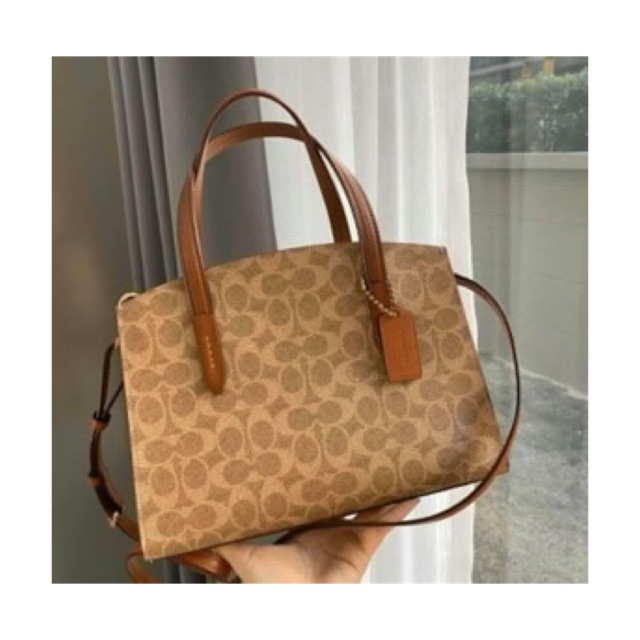 COACH 32749 Charlie Carryall 28 In Signature Canvas