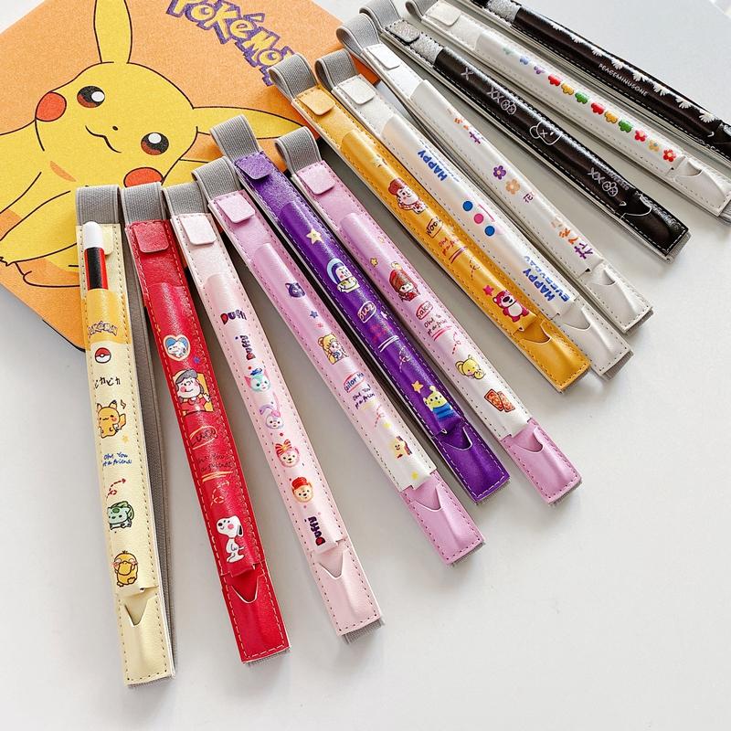 เคสหนังลายการ์ตูนสําหรับ Apple Pencil Case 1 2