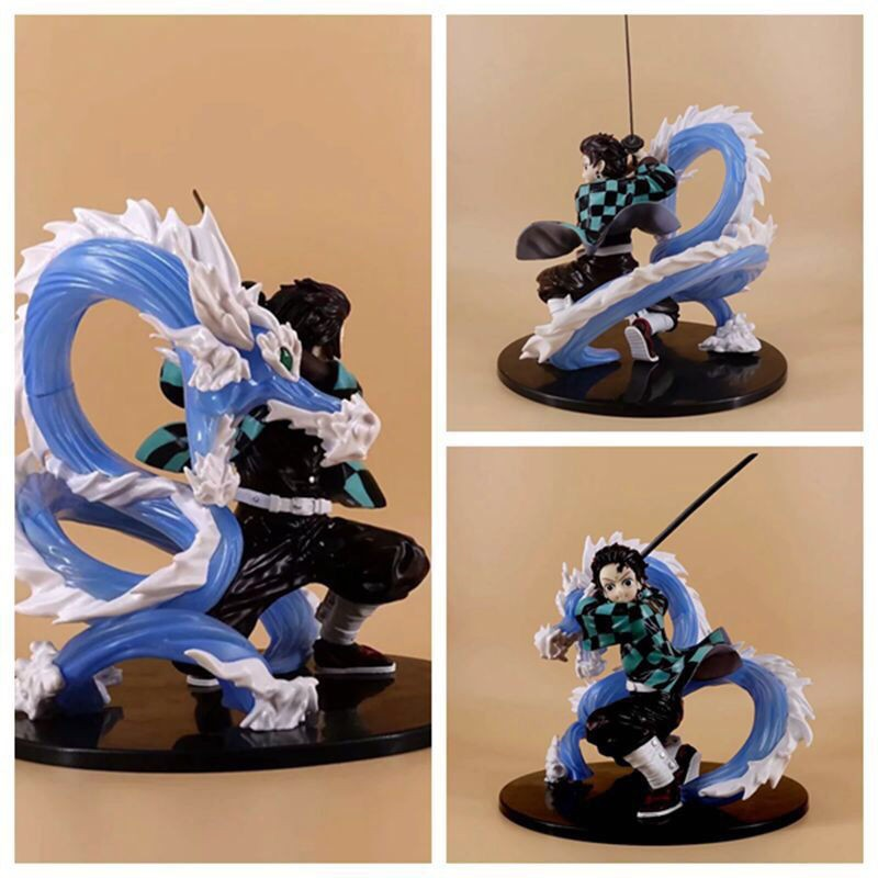 ฟิกเกอร์Anime Figure, Demon Slayer Blade, Kitchen Door Tanjirou Life and Life, Model Boxed Decoration Gift Figure