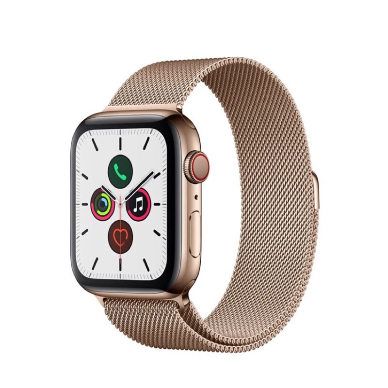 Apple Watch Series 5 GPS+Cellular(44mm,Stainless Steel Case,Milanese Loop Band)::ตัวท็อปเครื่องศูนย์ไทย ประกันศูนย์ 1 ปี