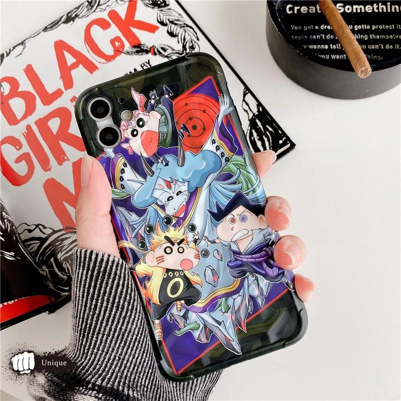 เคสโทรศัพท์มือถือแบบนุ่มสําหรับ Apple 11 Promax Crayon Shin - Chan Naruto Iphone 8 Plus Xs
