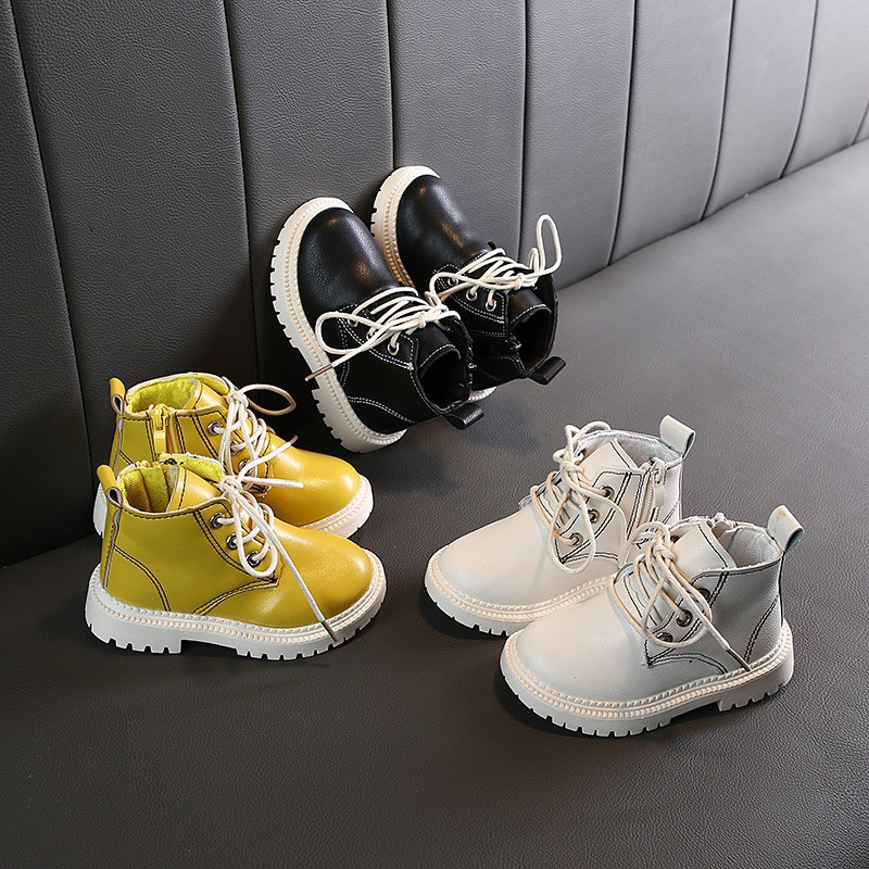 New Lace Up High Top Baby Toddler Girls Boys Canvas Shoes Walking Sneakers