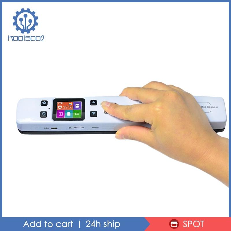 [KOOLSOO2] ISCAN02 Wifi HD Portable Scanner High Speed Mini Document Book Scanner