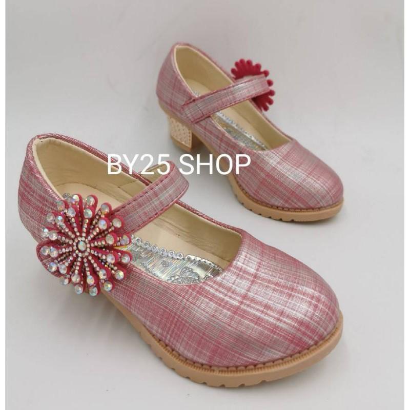 รองเท้าคัชชูเด็กผู้หญิง เจ้าหญิง (26-30) รองเท้าออกงาน