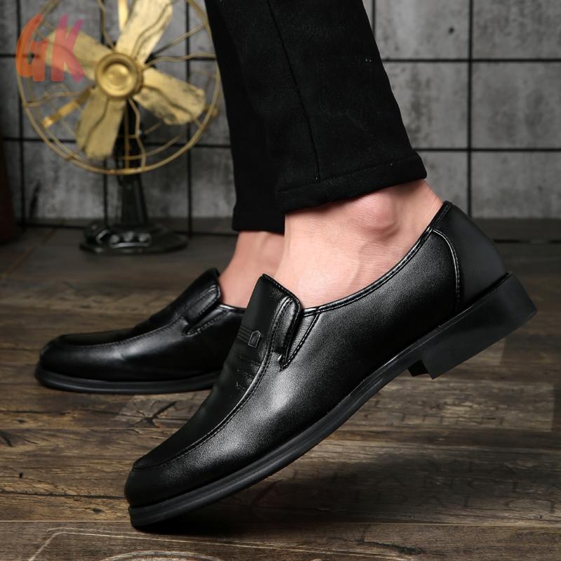 GKD✔ รองเท้า รองเท้าโลฟเฟอร์ ผู้ชาย รองเท้าคัชชู รองเท้าหนังแบบผูกเชือก รองเท้าหนังแฟชั่น รองเท้าหนังแท้ loafer 03