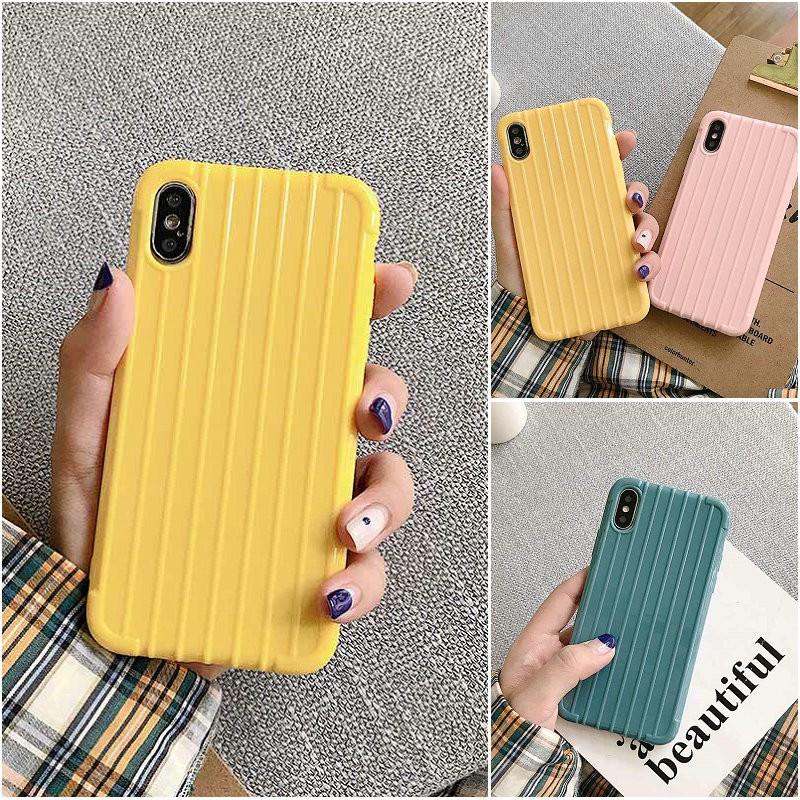 เคส Samsung J8 J7 J6 J6+ J2 M31 M30S M21 M20 M11 M10 A11 A9 A7 A20S A10S Note 9 S10 S10+ Plus Pro 2018 Trunk Solid color soft TPU case