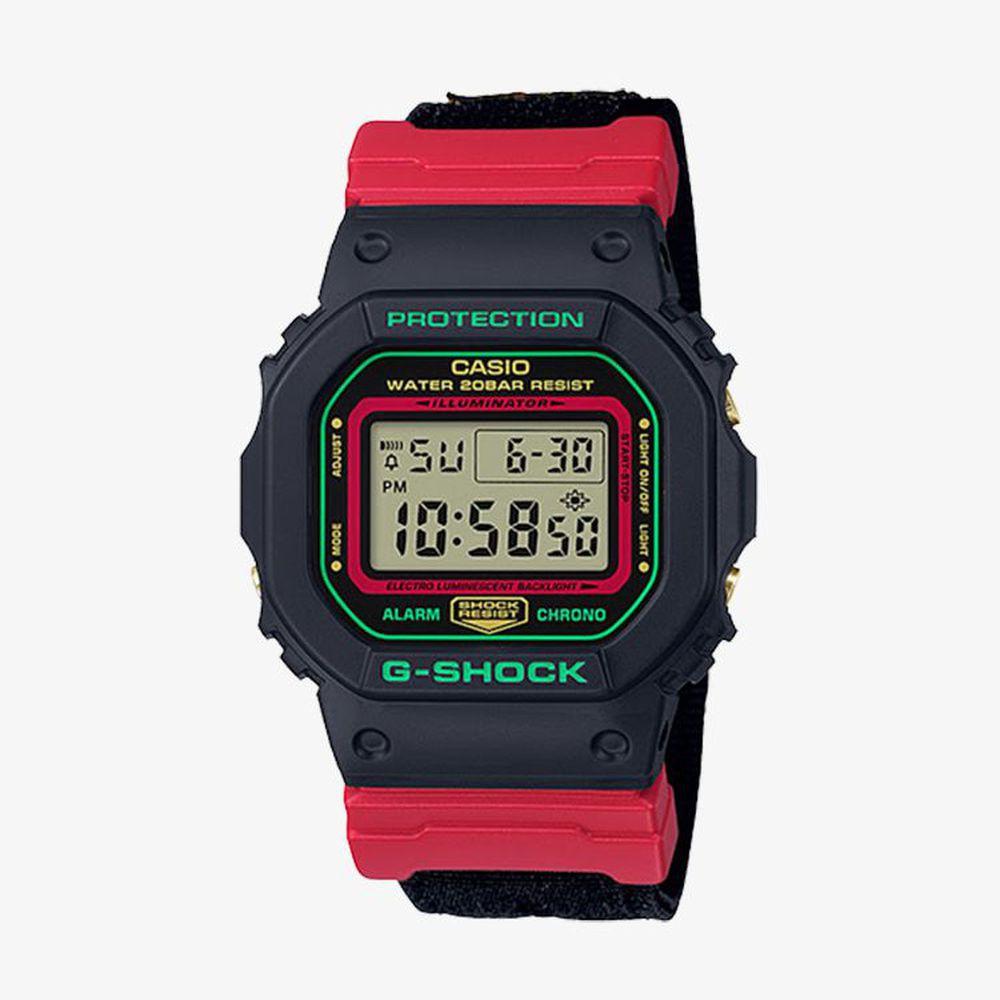 G-Shock นาฬิกาข้อมือผู้ชาย G-Shock Special Color Black รุ่น DW-5600THC-1DR