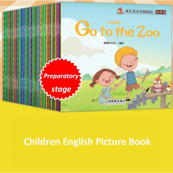 (60 Books One Set) Baby Children Kids Early Learning Picture Books English Story Books Night Book Reading