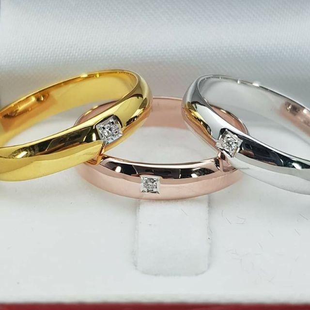 แหวนเพชร ราคาถูก ทอง9k 37.5%