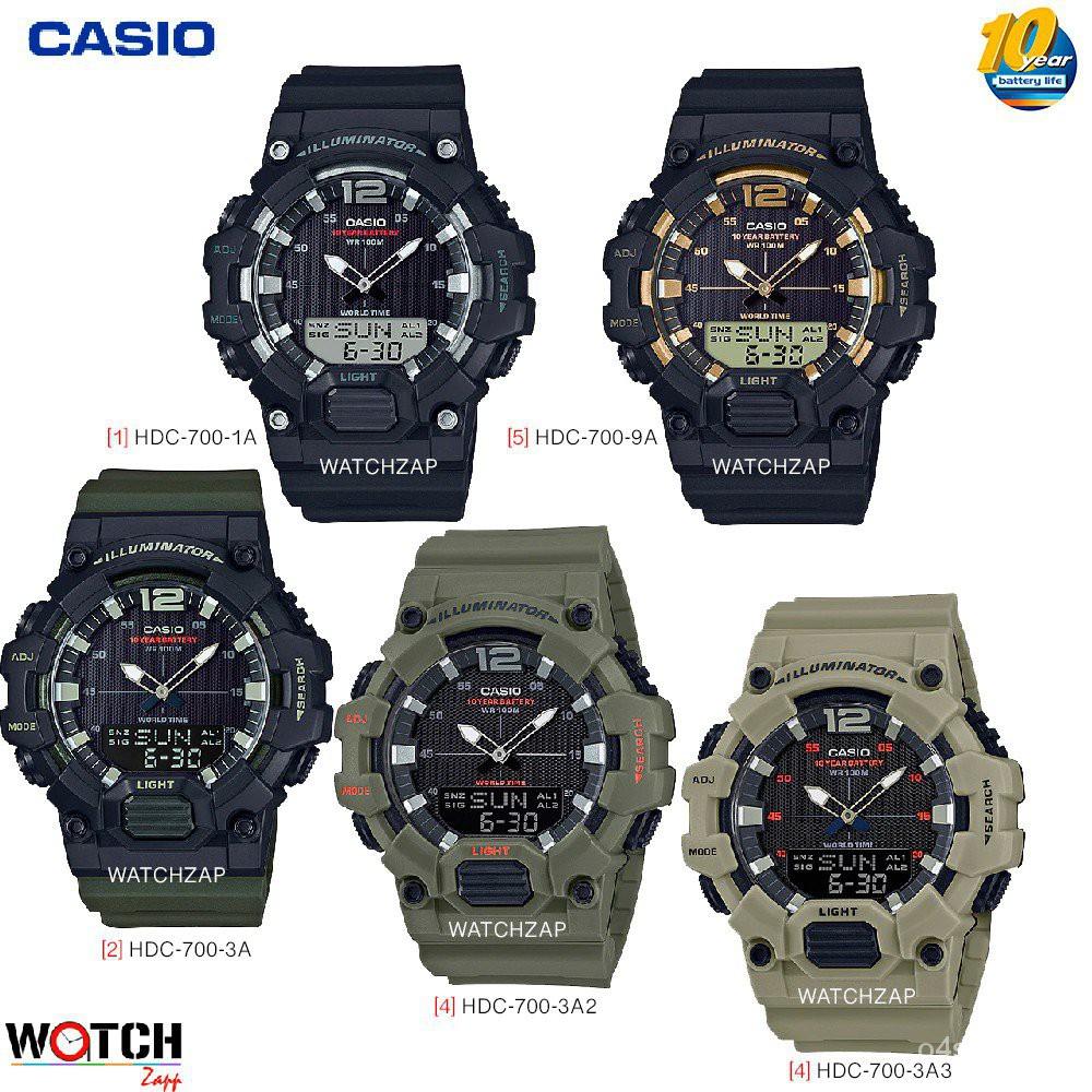 ถูกสุด!!! นาฬิกาข้อมือ Casio Standard Analog-Digital รุ่น HDC-700