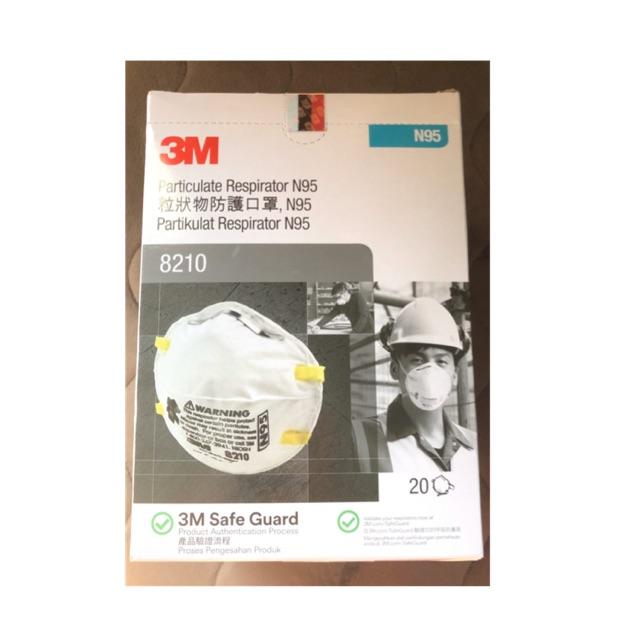 3M รุ่น 8210 N95 🔥(พร้อมส่ง)🔥