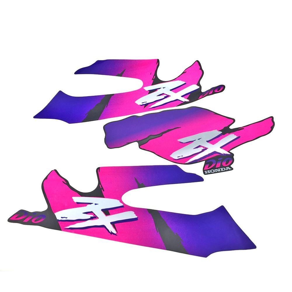 สติกเกอร์ติดถังน้ํามันสําหรับ Honda Dio50 17 18 27 28 Week Zx34 35