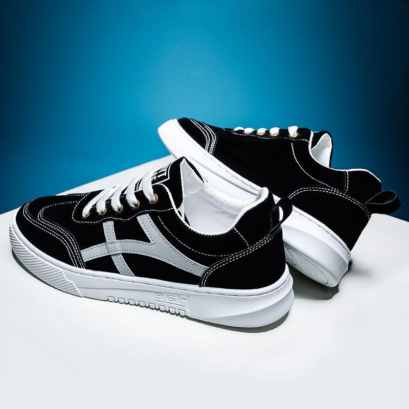 🔥พร้อมส่ง🔥รองเท้า รองเท้าผู้ชาย รองเท้าผ้าใบ รองเท้าทำงานผู้ชาย รองเท้าคัชชูผู้ชาย แฟชั่น