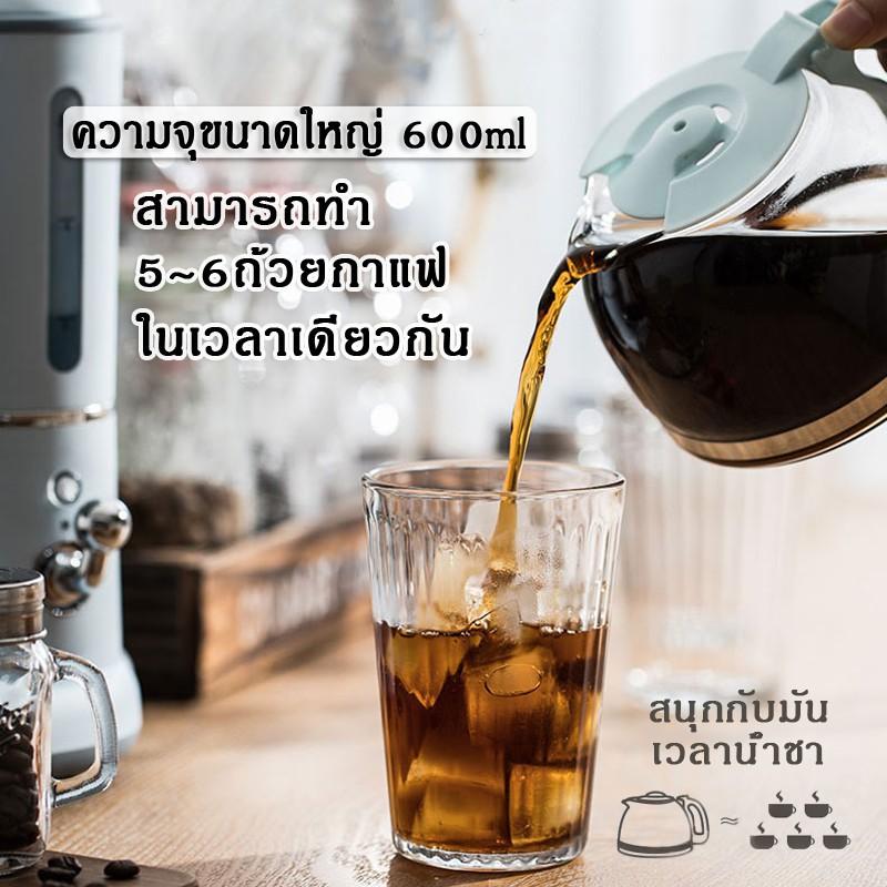 นิยม! IHOME Bear KFJ-A06K1 เครื่องชงกาแฟ เครื่องชงกาแฟเอสเพรสโซ เครื่องทำกาแฟขนาดเล็ก เครื่องทำกาแฟกึ่งอัตโนมติ ถูกสุด!