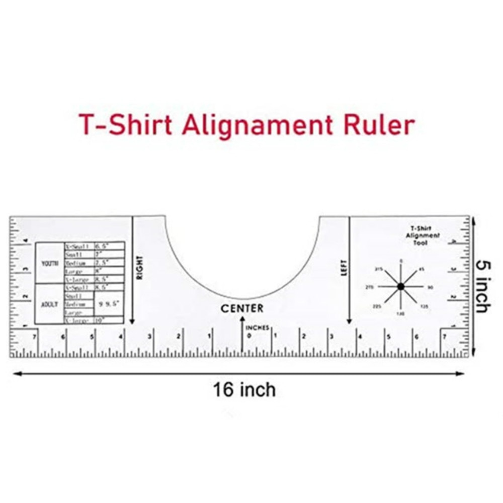 LIGHTBLUE Sewing Patchwork Ruler,Acrylic DIY Craft Sewing Ruler Acrylic Patchwork Ruler