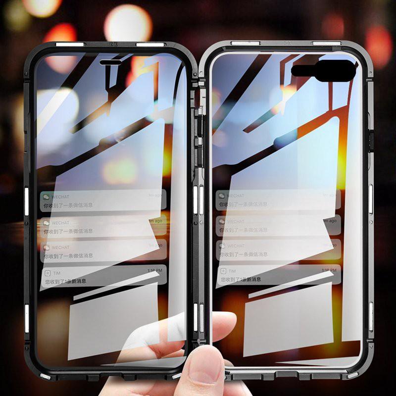 เคสโทรศัพท์มือถือแบบสองด้านสําหรับ Iphone 2020 Se 7 8 Plus X Xr Xs Max