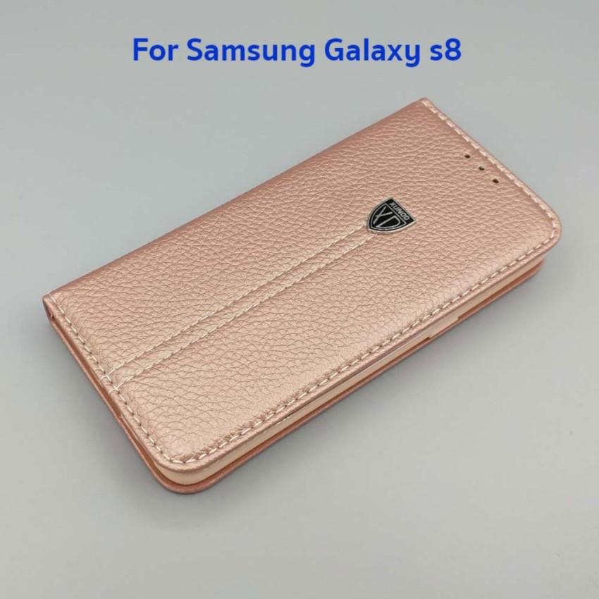 XUNDD Leather Wallet Flip Case original เคสฝาปิดของแท้ สำหรับ Samsung Galaxy S8 #1329