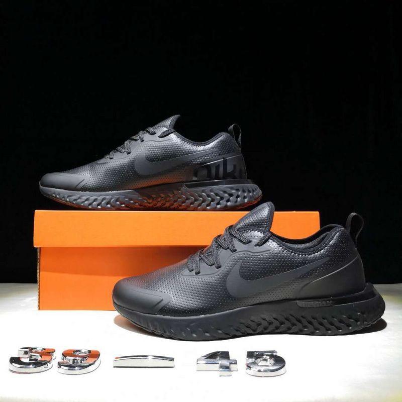 NIKE Epic React Flyknit Leather รองเท้าวิ่ง/รองเท้ากีฬา/รองเท้าลำลอง/รองเท้าระบายอากาศ/รองเท้าวิ