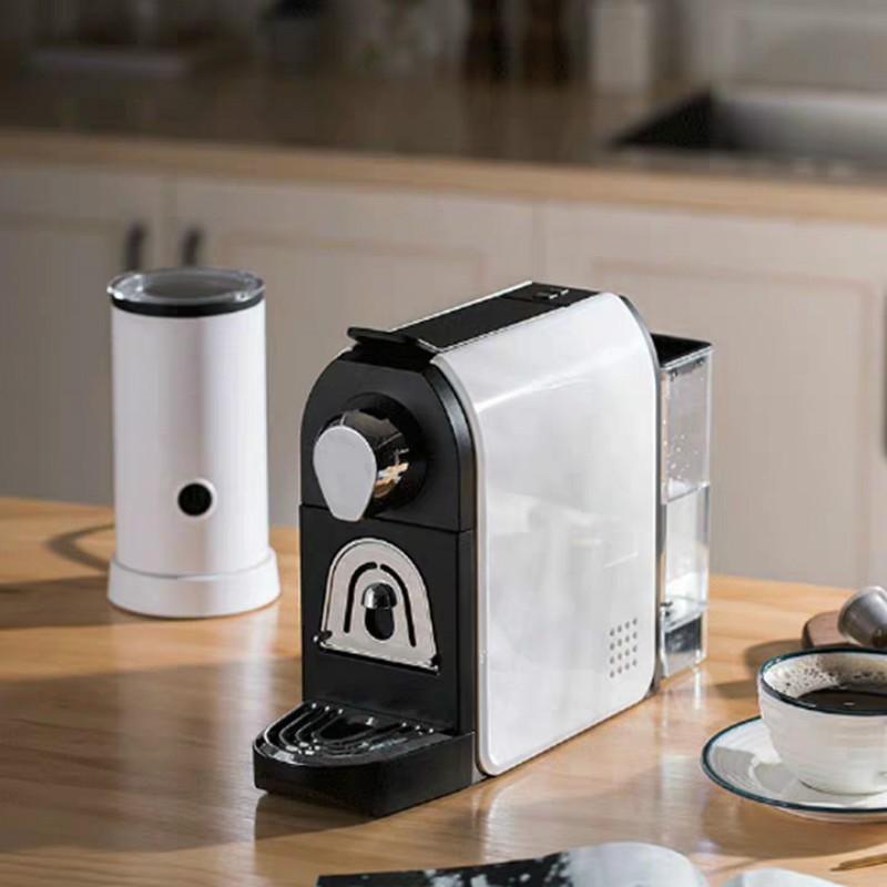 ♙●Sangseeqiss LZP5005 เครื่องทำกาแฟแคปซูลอิตาลีบ้านสำนักงานโฟมนมกึ่งอัตโนมัติขนาดเล็ก