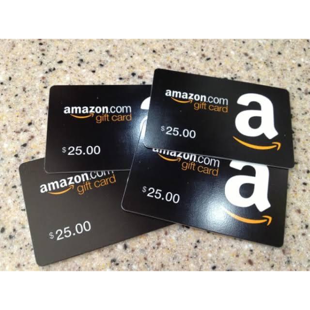 บัตร Amazon Gift Card (us).