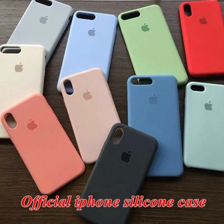 Review เคส iphone 6 6S apple iphone 6P 6s plus case เคสซิลิโคน เคส Liquid Silicone Soft Case Cover ZQเคสiphone6/6sp