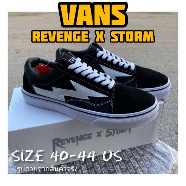 รองเท้า VANS REVENGE X STORM รองเท้าแวนส์ พร้อมส่งในไทย แวนส์โอลด์สคูล ของแท้100%(ไม่ผ่านQC)