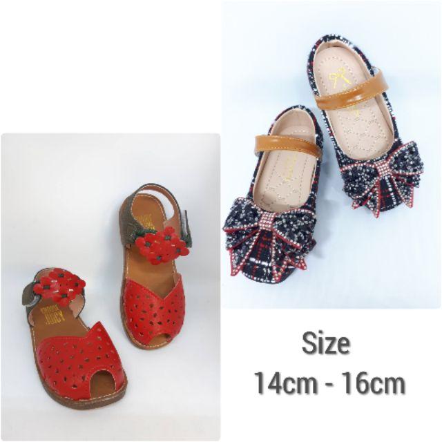 รองเท้าเด็ก คัชชู 14cm - 16cm