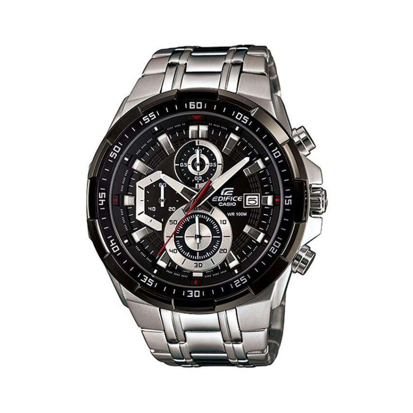 Casio Edifice นาฬิกาข้อมือผู้ชาย สายสแตนเลส รุ่น EFR-539D-1A1 - สีเงิน