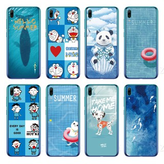 Review Cartoon Whale Back Cover Huawei Y7 Pro 2019 / Y7 2019 / Y7 Prime 2019 Soft TPU Case