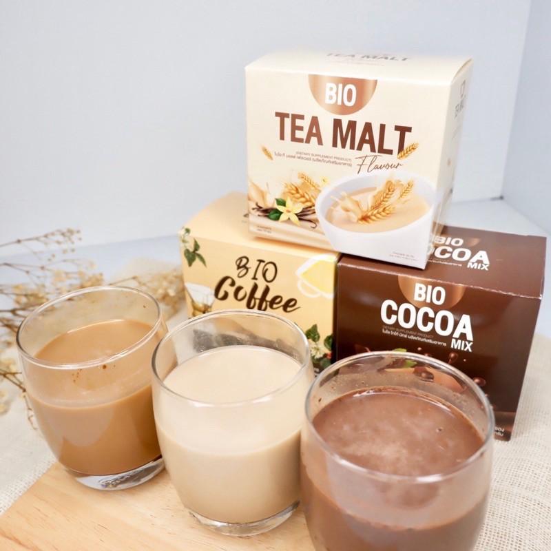 Bio Cocoa ชงคุมหิว ไบโอ โกโก้ กาแฟ ชามอลต์