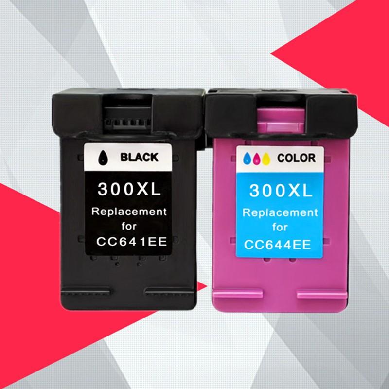 Compatible 300XL Remanufactured Ink Cartridges for HP 300 for hp300  for Deskjet D1660 D2560 D2660 D5560 F2420 F2480 F24