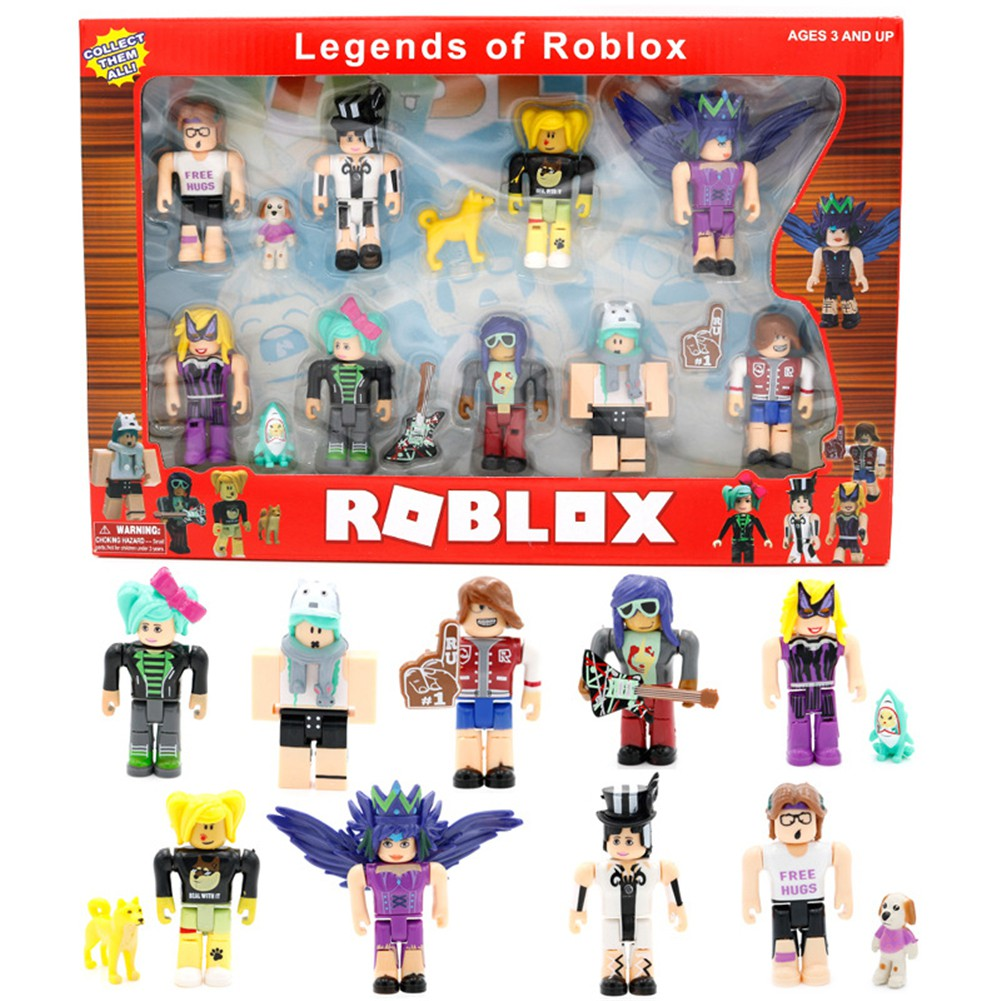 Roblox Legends of Roblox Action Figure Collection Doll Toys Kids Gift 9 PCS