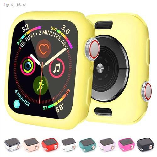 Hot new products✧▧พร้อมส่งจากไทย เคส Apple Watch สำหรับ IWatch series SE/6/5/4/3/2/1  Silicone Case Apple Watch 40&44mm