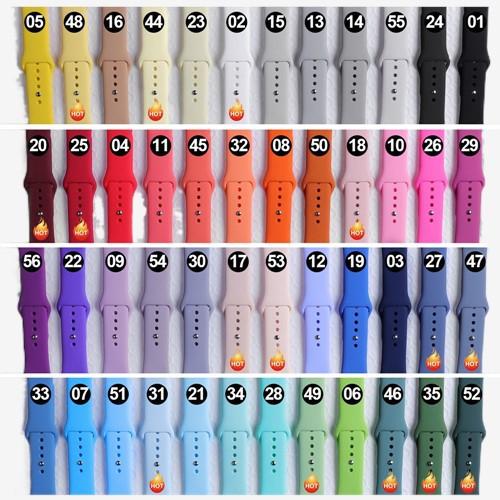 พร้อมส่ง‼️ สายสำหรับ Apple Watch สีมาใหม่ series 6 5 4 3 2 applewatch se, ขนาด 42mm 44mm 38mm 40mm สาย