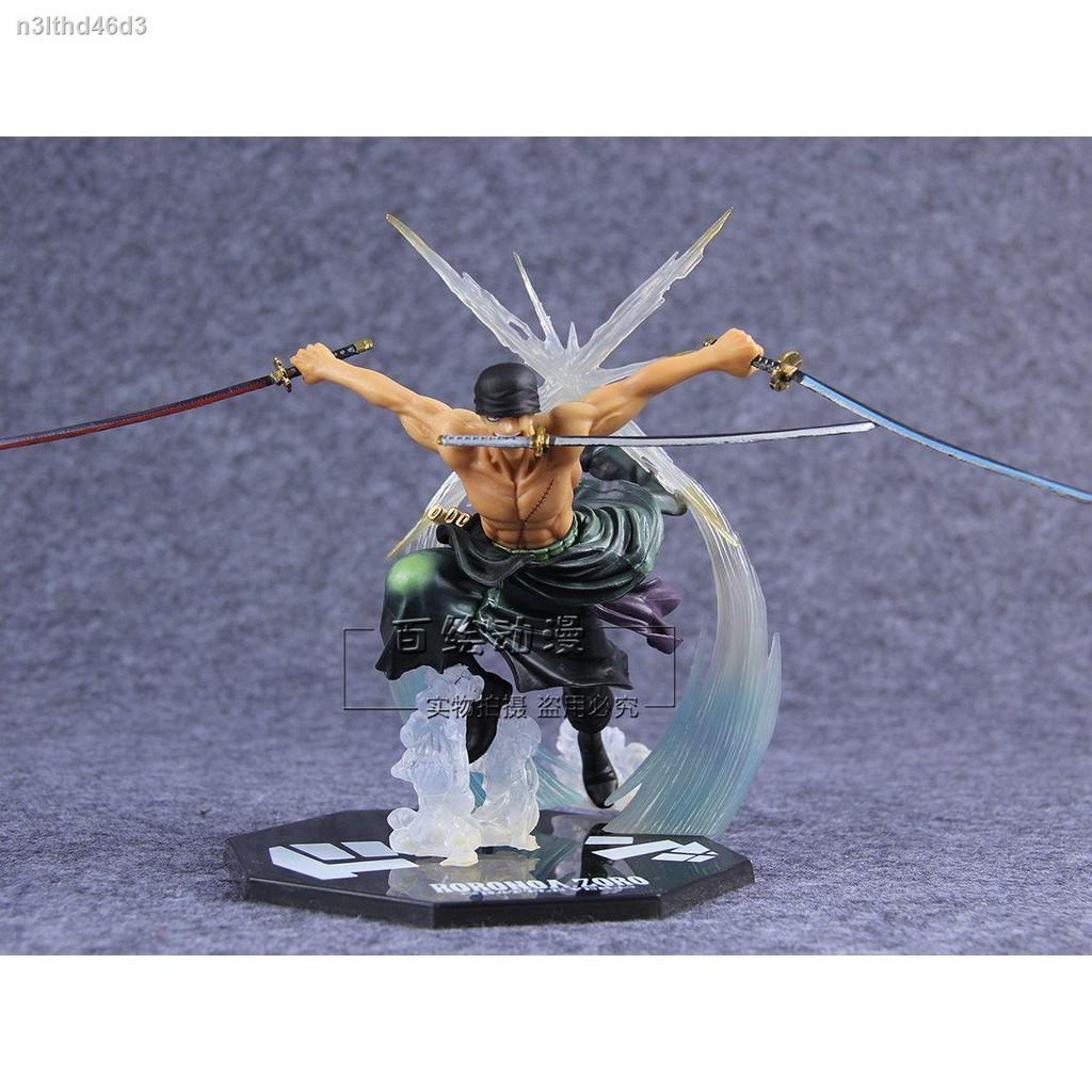 ของเล่นtoy○❄One Piece ZERO Ronoa Sauron Zoro Battle Purgatory Demon Slayer Figure Model