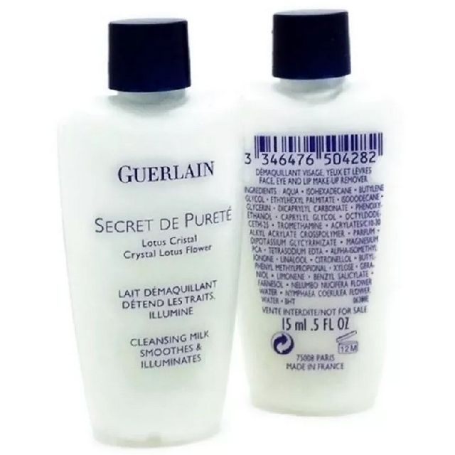 Guerlain Secret De Purete Crystal Lotus Flower Cleansing Milk