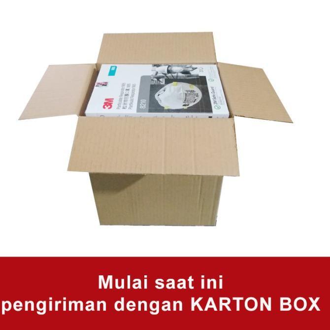 3M N95 8210-1 กล่อง 20 หน้ากาก - ฟรีห่วงหน้ากาก 5 แพ็ค vW55
