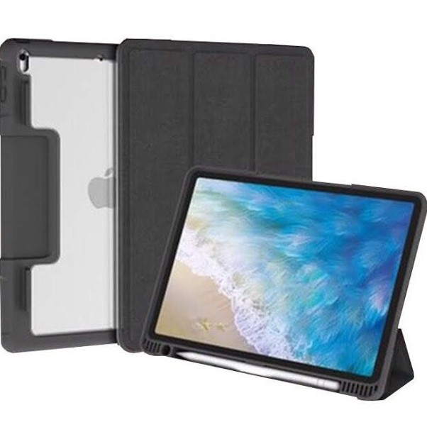 Mutural Clear Case with Apple Pencil holder เคส iPad Air 3(2019) ipad 10.5