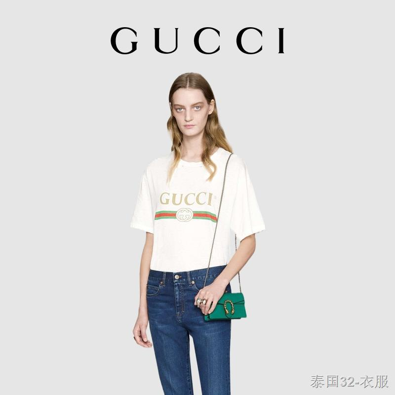 ✉GUCCI Gucci Dionysus Dionysus Series กระเป๋าสะพาย Supermini