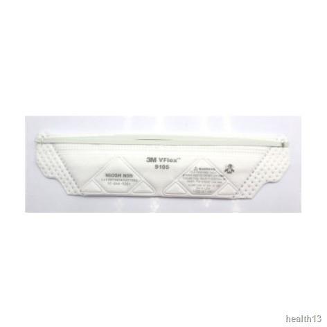 ♨3M หน้ากากกันฝุ่น คาดศรีษะ VFLEX N95 รุ่น  9105, 8210, 8210V, 9001