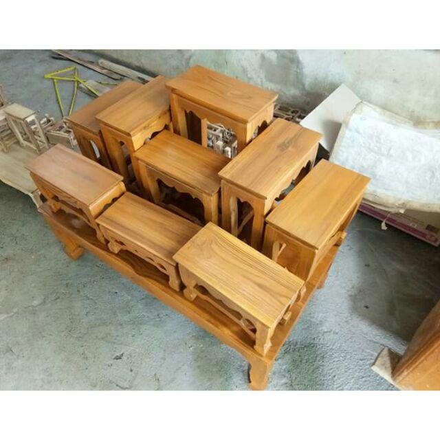 โต๊ะหมู่ไม้สักทองสินค้าดีราคาถูก