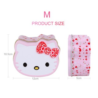 1a065322c Sale Cute Hello Kitty Mini Gift Candy Storage Wedding Favor Tin Box  Tabletop Organizer Container Household 5C ค้นหาราคา - เท่านั้น ฿13