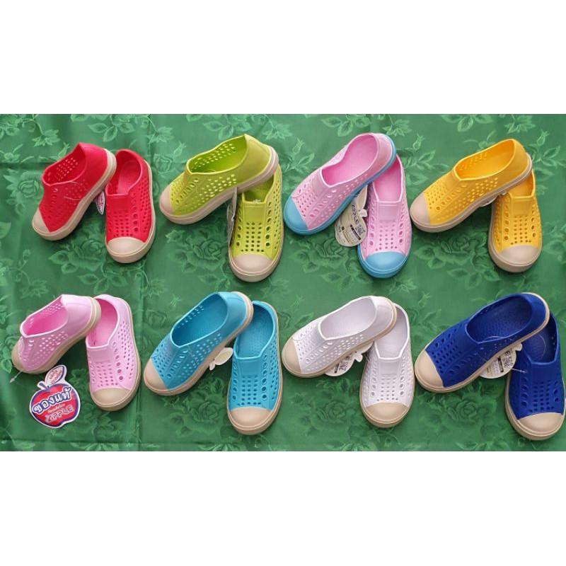 รองเท้าคัชชูยางเด็กพร้อมส่ง ราคาถูก ใส่ได้ทั้งชายและหญิง