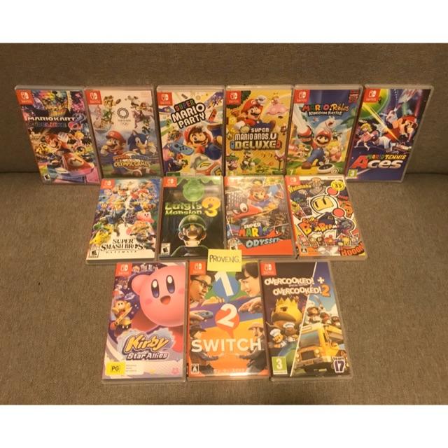 [มือ 2] Nintendo Switch สภาพดี เกมส์เเนวปาร์ตี้ เล่นได้หลายคน มือสอง