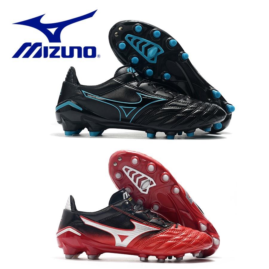 Mizun.o Morelia Neo II FG รองเท้าฟุตบอล Mizuno Moreira FG ซีรีส์รองเท้ากีฬาล่างรองเท้าผ้าใบ