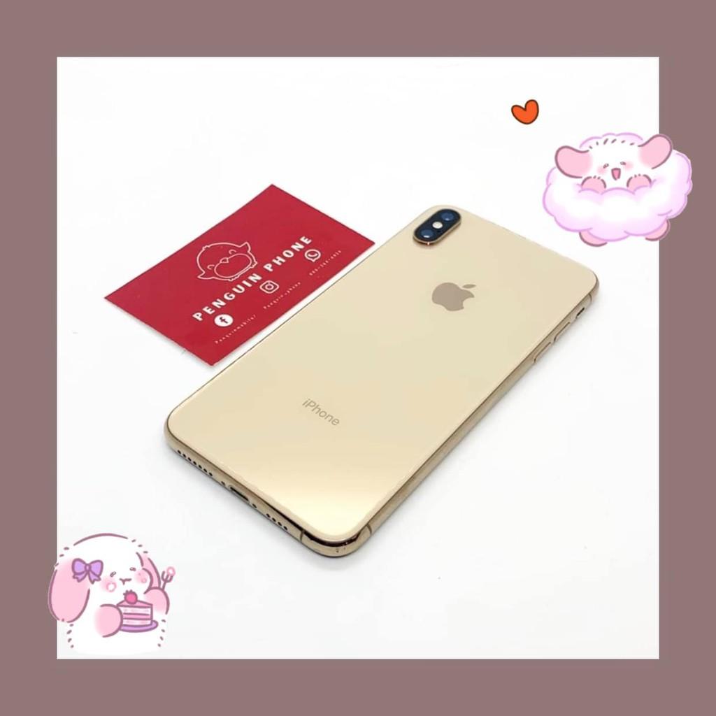 iPhone Xs Max 256GB สี Gold มือสอง สภาพ 95% [ไอโฟนมือสอง iPhoneมือสอง ไอโฟนมือ2 ไอโฟนราคาถูก โทรศัพท์มือสอง มือสอง]