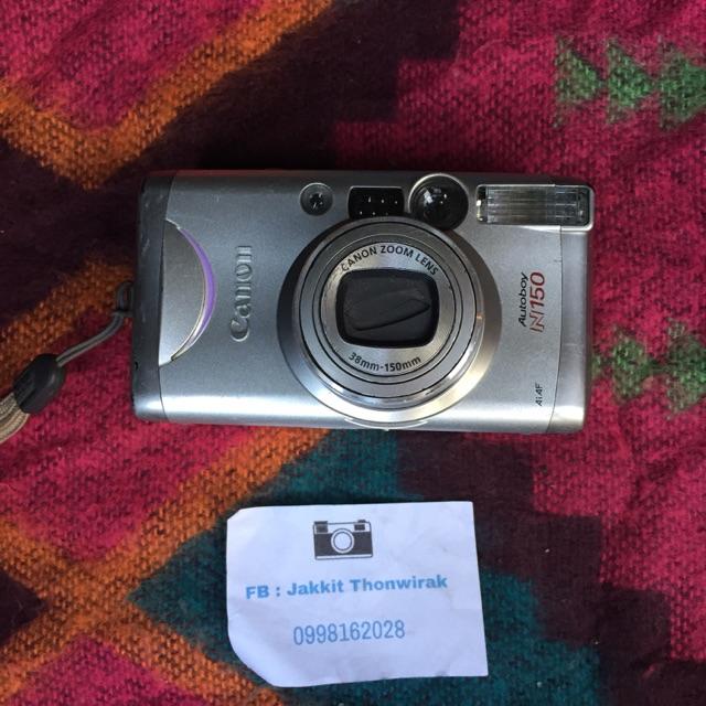 กล้องฟิล์มราคาถูก canon autoboy n150