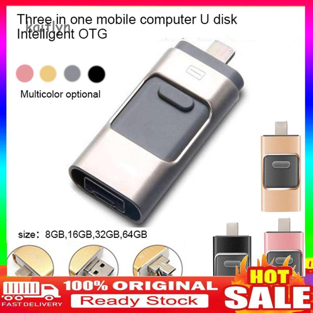64G OTG USB2.0 Flash Drive U Memory Stick Stick per Android Phone 8//16//32